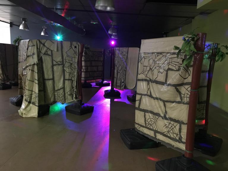 L'espace Laser game Junior